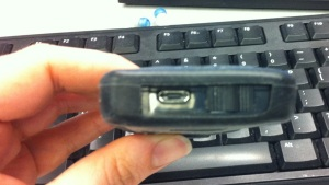 Dexcom G4 receiver in Insignia Pilot case